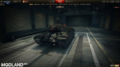 BLACK WITH RED PATTERN SKIN for IS-3 1.4 [1.4.0.1], 2 photo